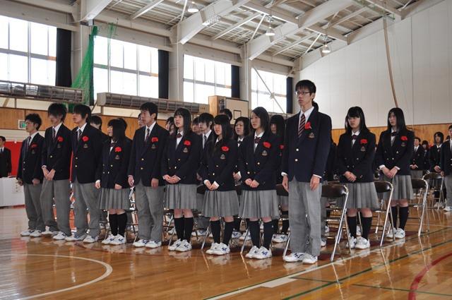 上士幌高等学校制服画像