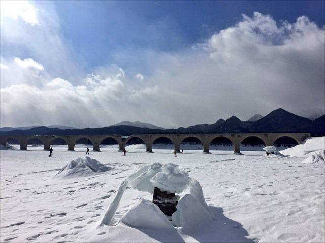 タウシュベツ川橋梁のいま
