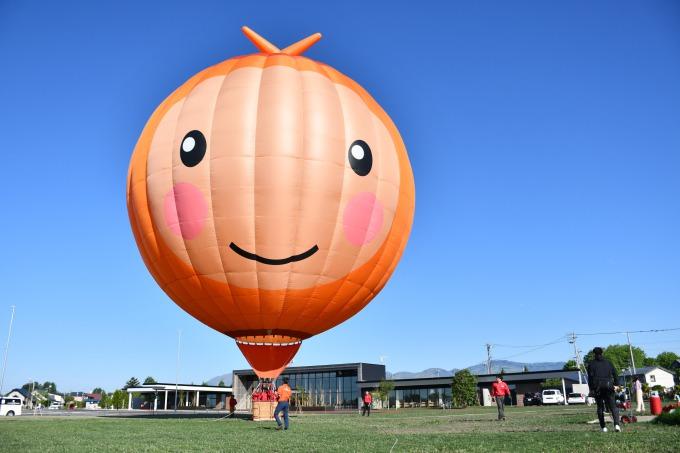 道の駅かみしほろ 熱気球立ち上げデモンストレーション ※体験搭乗は中止