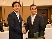 米沢市長と竹中町長